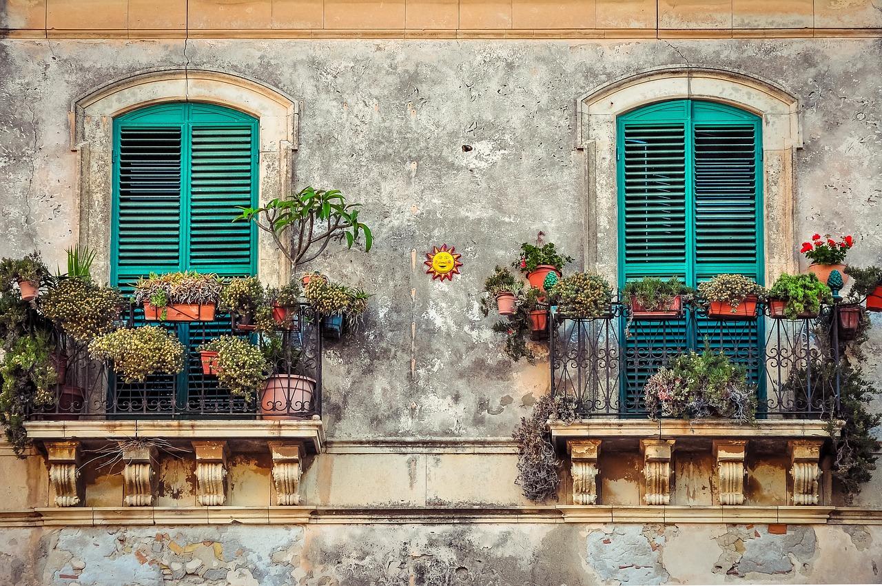 esempio di giardino urbano